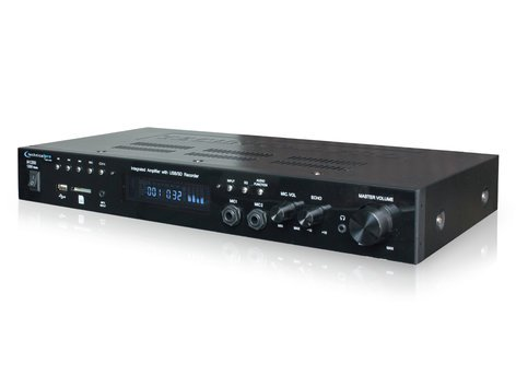 Technical Pro IA1200 Integrated Amplifier w/USB and SD Card Inputs IA1200