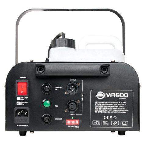 ADJ VF1600 1500W Mobile DMX Fog Machine with Remote VF1600