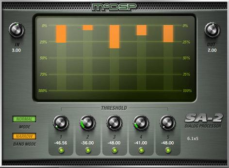McDSP SA-2 Dialog Processor, AAX Native, AU, VST SA2-NATIVE