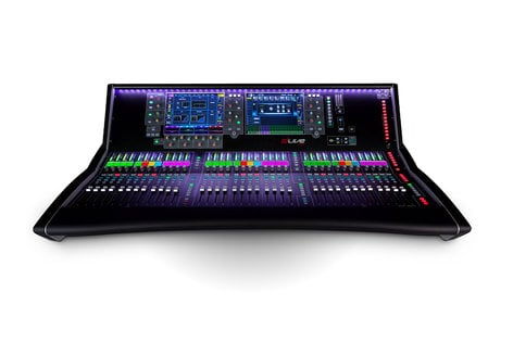 "Allen & Heath dLive S7000 Live Mixing Control Surface with 36 Faders and Dual 12"" Touchscreens S7000"