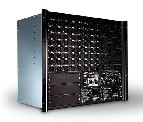 Allen & Heath DM64 dLive I/O Box, 64 In x 32 Out DM-64