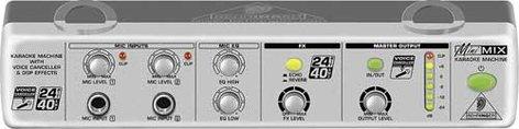 Behringer MINIMIX MIX800 Karaoke Machine with Voice Canceller and FX MIX800-MINIMIX