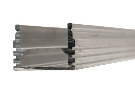 Elation Pro Lighting FLX888 4' Flex Channel Tall Profile FLEX-TAPE-CHANNEL-2
