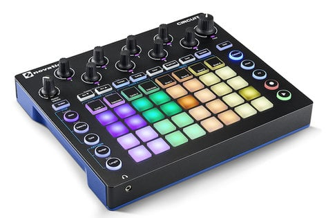 Novation Circuit Groove Box + Sample Import Nova Synth and Drum Machine with Circuit Components Suite CIRCUIT