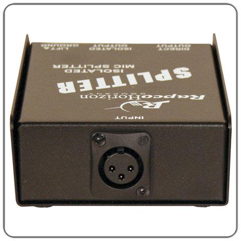 RapcoHorizon Music MS-1  Isolated Microphone Splitter MS-1