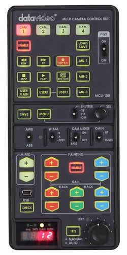 Datavideo Corporation MCU-100S  Multi Camera Controller for Sony Cameras MCU-100S
