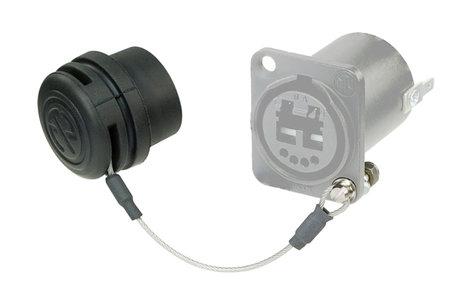 Neutrik SCD-NC  Rubber Seal Cover for optiCON Chassis Connectors SCD-NC