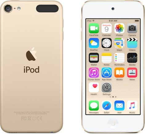 """Apple iPod Touch 32 GB Media Player with 4"""" Retina Display IPOD-TOUCH-32GB-G6"""