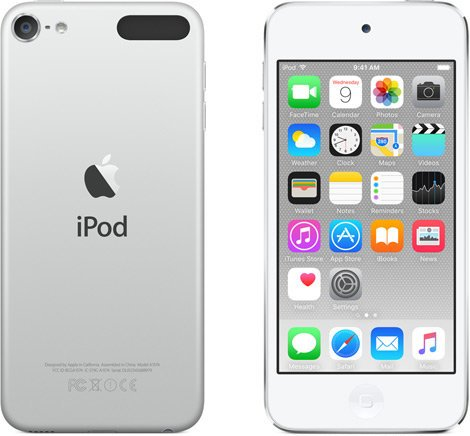 """Apple iPod Touch 64 GB Media Player with 4"""" Retina Display IPOD-TOUCH-64GB-G6"""