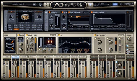 XLN Audio Addictive Drums 2 Drum Production Software ADD-DRUMS-2