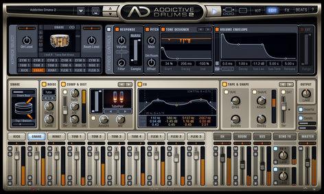 XLN Audio Addictive Drums 2: Creative Collection Drum Production Software Bundle ADD-DRUMS-2-CREATIVE