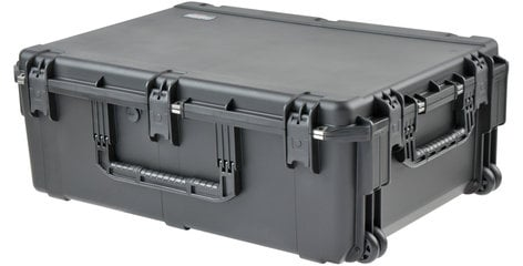 """SKB Cases 3I-3424-12BE  iSeries Pro Audio Utility Case with Wheels, 34""""x24""""x12"""", Empty 3I-3424-12BE"""