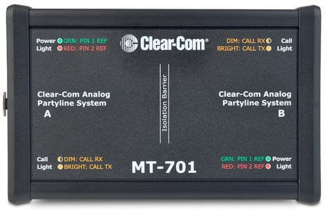 Clear-Com MT-701 Isolation Box for Partyline Interface MT-701