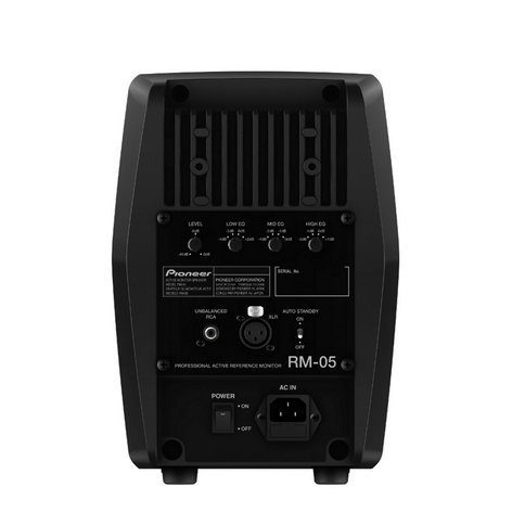 """Pioneer RM-05 5"""" Coaxial Active Studio Monitor RM-05"""