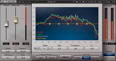 Waves Z-Noise Dynamic Noise Reduction Plugin ZNONA