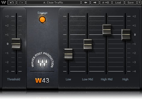 Waves Video Sound Suite Audio for Video Plugin Bundle VSSSG