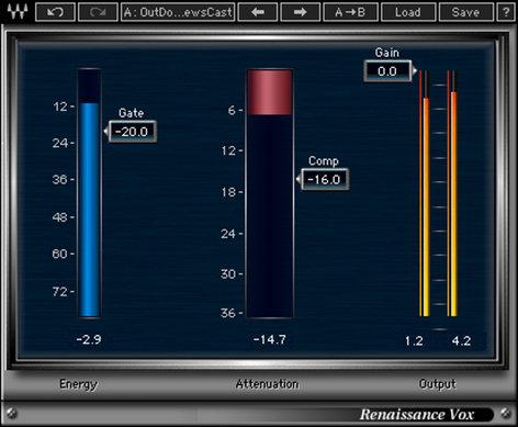 Waves Renaissance Vox Dynamic Vocal Plugin V5-RVT40