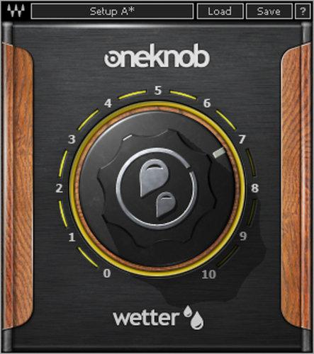 Waves OneKnob Wetter Reverb Plugin OKWETRNATSG
