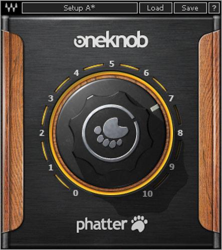 Waves OneKnob Phatter Bass Boost Plugin OKPHTNATSG