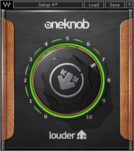Waves OneKnob Louder Volume Maximizer Plugin OKLDRNATSG