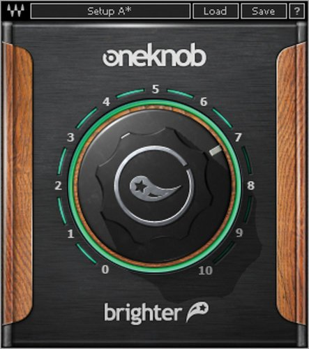 Waves OneKnob Brighter Treble Booster Plugin OKBRNATSG
