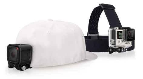 GoPro Inc Head Strap + QuickClip Camera Mount For GoPro Cameras ACHOM-001