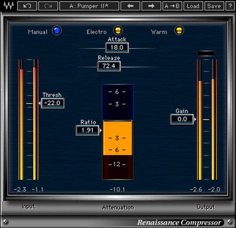 Waves Renaissance Compressor Compressor Plugin V5-RCD40