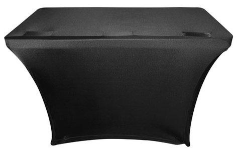 Odyssey Scrim Werks SPATBL4 4' Banquet Table Slip Screen in Black or White [SPATBL4BLK/SPATBL4WHT] SPATBL4