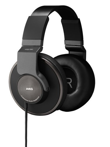 AKG K553 PRO Over-ear Closed-Back Studio Reference Headphones K553-PRO