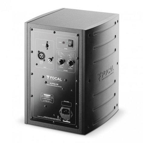 "Focal ALPHA 50 Active 2-Way Near Field Monitoring Loudspeaker, 5"" Polyglass cone ALPHA-50"