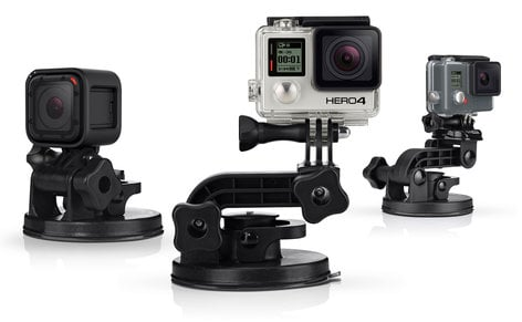 GoPro Inc Suction Cup Mount For GoPro Cameras AUCMT-302