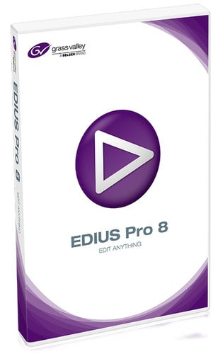 Grass Valley EDIUS Pro 8 Non-Linear Video Editing Software (Windows) EDIUS-PRO-8