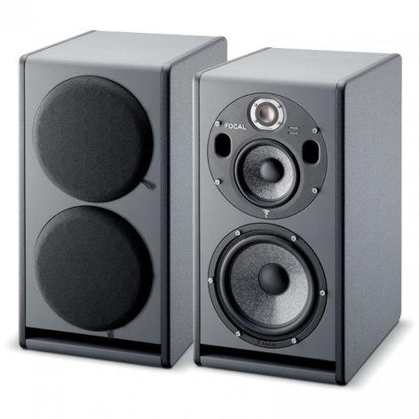"""Focal Trio6 Be 3-Way Active Monitor, 5"""" + 8"""" W cones TRIO6-BE"""