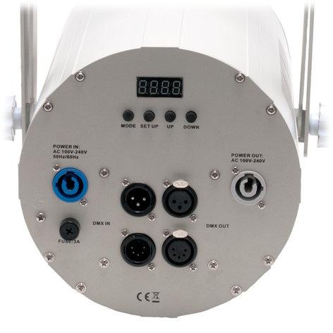 ADJ COB Cannon Wash Pearl 150W RGBA Cob Wash Effect in Off White COB-CANNON-WASH-PRL