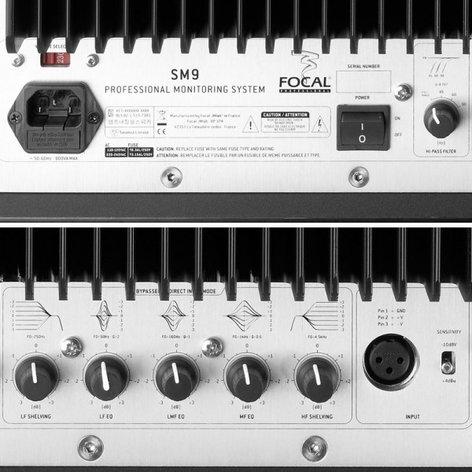 """Focal SM9 3-Way Midfield Active Monitor, 6.5"""" + 8"""" + 11"""" W Cones SM9"""