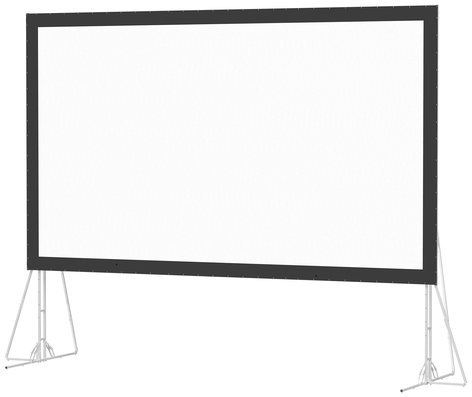 "Da-Lite 87322  162""  x 288"" Fast-Fold Truss Frame Screen with Dual Vision Surface 87322"