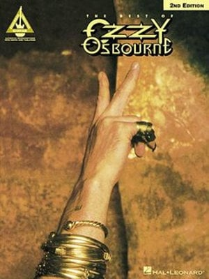 Hal Leonard The Best of Ozzy Osbourne - 2nd Edition Guitar Tablature Book 00694847