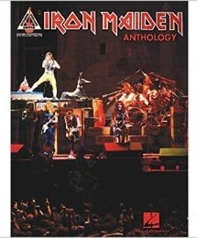 Hal Leonard Iron Maiden Anthology Guitar Tablature Book 00690790