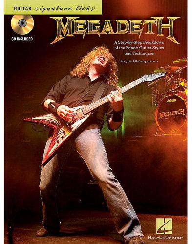 Hal Leonard Megadeth - Signature Licks Guitar Tablature Book 00696421
