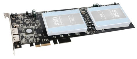 Sonnet Tempo SSD Pro Plus SSD Expansion PCI Express Card with Dual eSATA Ports, 6 Gb/s TSATA6-SSDPS-E2
