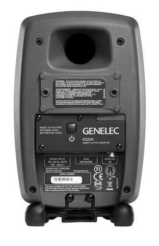 "Genelec 8320-SAM 8320 Stereo SAM Pair of 4"" 2-Way 100 Watt Smart Active Studio Monitors with GLM V2.0 and Volume Control 8320-SAM"