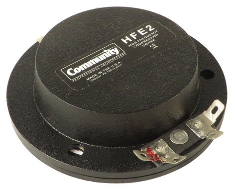Community 103424R HF Diaphragm for Various Community Speakers 103424R