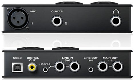MOTU MicroBook IIc 4x6 USB Audio Interface, Mac/Win/iOS MICROBOOK-IIC
