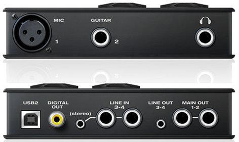 MOTU MICROBOOK-IIC MicroBook IIc 4x6 USB Audio Interface, Mac/Win/iOS MICROBOOK-IIC