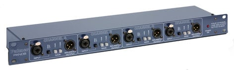"Palmer PAN 08 19"" 4 Channel DI/Line Isolation Box PAN-08"