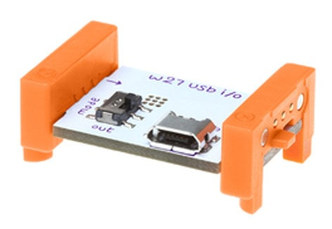 Littlebits USB I/O Module I/O Module for Synth Kit SYNTHKITAIO
