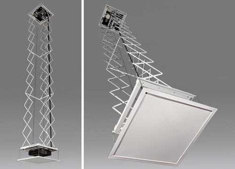 Draper Shade and Screen SLX-10 110 V Projector Scissor Lift, Manufacturer Part #: 300250 300250