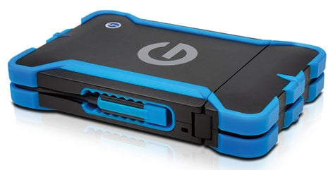 G-Technology 0G04277 vATC All-Terrain Thunderbolt Case for G-Drive ev Series without Drive 0G04277