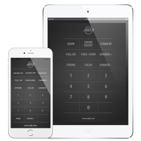 ADJ Airstream IR Universal IR Control App for ADJ Fixtures AIRSTREAM-IR
