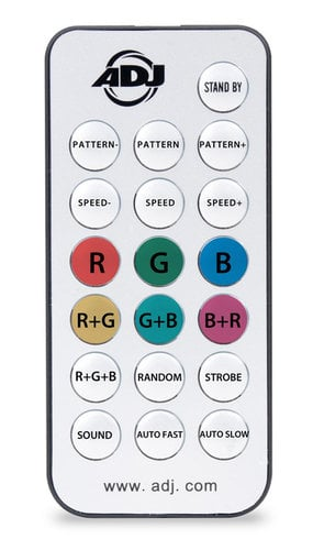 ADJ MICRO GOBO II Red & Green Mini Laser Effect Fixture with IR Control MICRO-GOBO-II